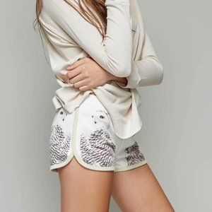 All Things Fabulous LIKE NEW Owl track shorts
